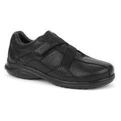 Oasis Footwear Oasis Women's Alana Hook & Loop Black Diabetic Shoe