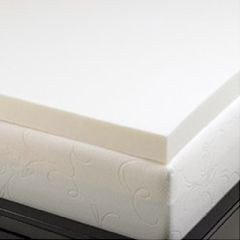 AB Marketers LLC 2 Inch Memory Foam Mattress Topper 5.3-lb Density Mattress Pads