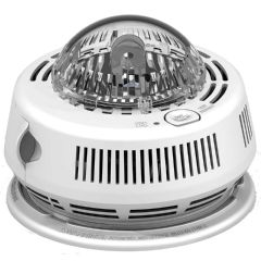 BRK Electronics Hard Wired Smoke Alarm with Backup & Strobe