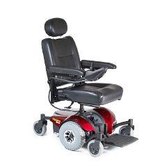 Invacare Pronto M41 Power Wheelchair - Semi-Recline 16x16 Red