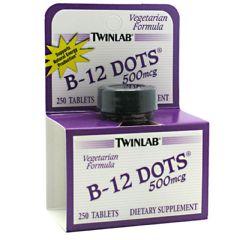 Twin Laboratories B-12 Dots