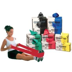 Cando Low-Powder Latex Exercise Bands