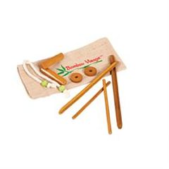 ScripHessco Facial Bamboo Stick Set W/ Face Version DVD