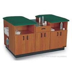 """Hausmann Proteam 2 Person Taping Table 6'L X 36""""H X 48""""D"""
