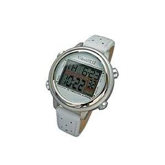 Global Assistive Devices Global VibraLITE 12 Vibrating Watch with White Leather Band