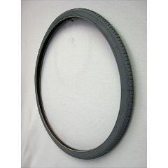 New Solutions Gray Pneumatic Street Tire - 26 x 1 3/8""