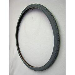 "Gray Pneumatic Street Tire - 26 x 1 3/8"""