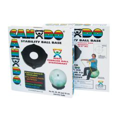 Cando Inflatable Exercise Ball - Accessory - Deluxe Stabilizer Base - For 45 - 75cm Balls