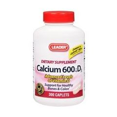 Cardinal Health Calcium 600 + D Dietary Supplement