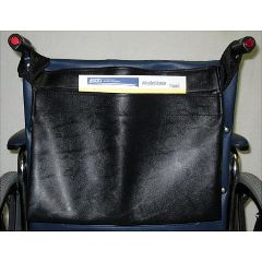 New Solutions Vinyl Back Pocket For Wheelchairs
