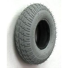 New Solutions Gray Pneumatic Durotrap Tire - 280 x 250-4