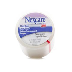 """NEXCARE Flexible Clear First Aid Tape -  2"""" wide"""