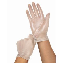 Medline Clear-Touch Vinyl Multi-Purpose Gloves