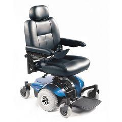 Invacare Pronto M41 Power Wheelchair - Semi-Recline 18x18 Blue