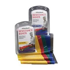 TheraBand Professional Resistance Bands Kit, Heavy (Advanced)