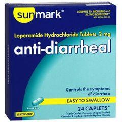 Sunmark Anti-Diarrheal Caplet