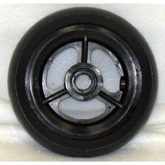 "3 Spoke Urethane Wide Wheel - 5"" x 1 1/2"""