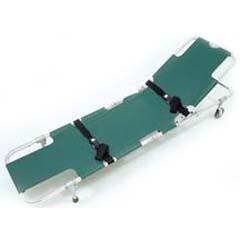 Easy-Fold Wheeled Stretcher w/ 5-Position Back
