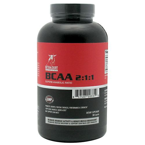 Betancourt Nutrition BCAA 2:1:1 Ratio Model 827 583051 01