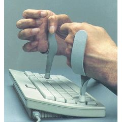 AliMed QualCare Clear View Typing Aid
