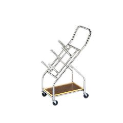 Cando Iron Disc Weight - Mobile Cart