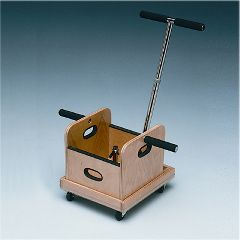 Baseline Fce Work Device - Mobile Weighted Cart With T-Handle And Accessory Box