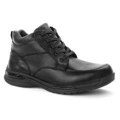 Oasis Men's  Jackson Black Diabetic Shoe