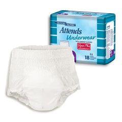 """Attends Underwear Complete - Protective Underwear - Medium 34"""" - 44"""""""
