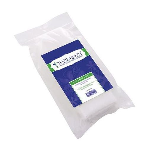 TheraBath Liners For Therabath Pro Mitts & Booties, 100/Pack Model 283 0161