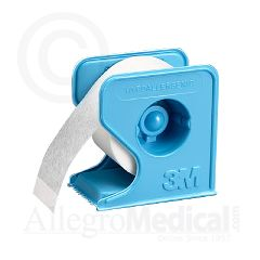 "MICROPORE Paper Tape With Dispenser 1/2"" wide"