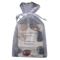 Mountain Valley Center Chakra Gemstones With Pouch And Storycard Set of 8