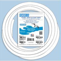 "Urocare White Rubber Drainage Tubing -  5/16"" x 10ft"