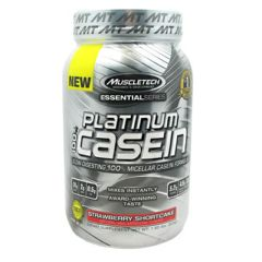 Essential Series MuscleTech Essential Series 100% Platinum Casein - Strawberry Shortcake