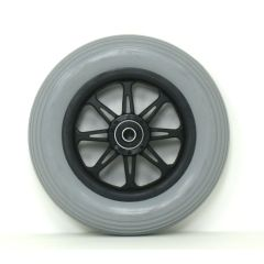 """New Solutions 6"""" X 1 1/4"""" JAZZY Front Caster Wheels With tire and Bearings"""