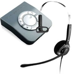 Sennheiser SH230 Over-the-Head Monaural Office Telephone Headset with Amplifier