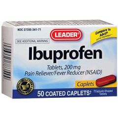 Cardinal Health Leader Ibuprofen Caplets