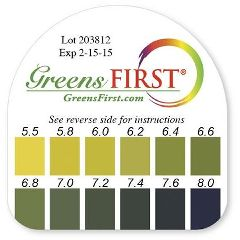 Greens First Ph Test Kit