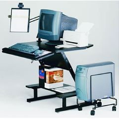 AliMed Z-25 Workcenter with Keyboard Tray