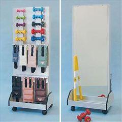Clinton Industries Comet Dual Rack With Mirror