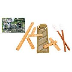ScripHessco Warm Bamboo Stick Set W/ Table Version DVD