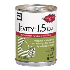 Jevity 1.5 CAL - 8 oz cans - High Protein Nutrition with Fiber
