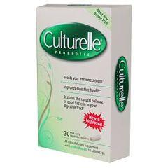 Culturelle Probiotic Dietary Supplement