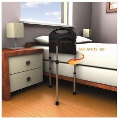 Complete Medical Products Mobility Bed Rail + Organizer