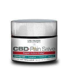 Lab+Blends™ 250mg CBD Pain Salve - 1.3 Oz