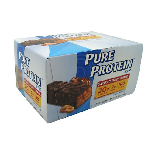 Pure Protein Pure Protein Bar - Chocolate Peanut Caramel Model 171 582924 01 Pack of 6