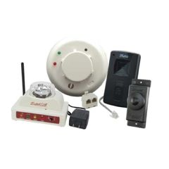 Silent Call Communications Silent Call Sidekick Receiver Deluxe Notification Kit with Wireless Doorbell