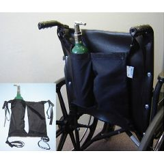 Ableware Mini Oxygen Tank Holder for Wheelchairs