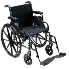 Drive Cruiser III Wheelchair with Swing-Away Footrest
