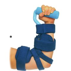 Comfy™ Elbow and Hand Spasticity Orthosis with Full Hand Attachment