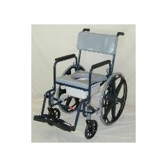 ActiveAid Stainless Steel Series 480 Shower Commode Chair